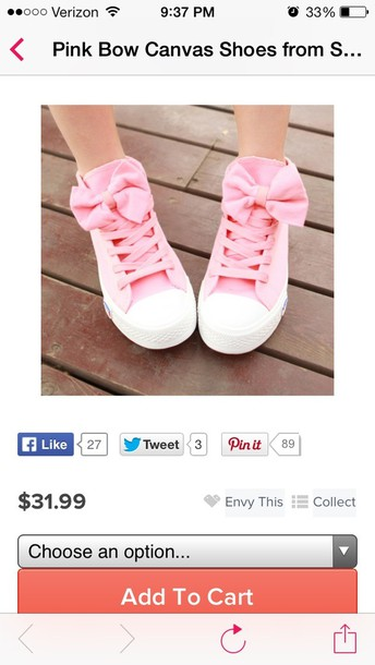 shoes bows pink bow shoes s'cute cute shoes