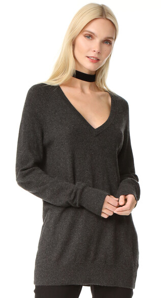 sweater grey charcoal heather grey