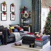 home accessory,christmas,holiday home decor,home decor,pillow,sofa,living room,twitter,christmas home decor