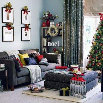 home accessory christmas holiday home decor home decor pillow sofa living room twitter christmas home decor