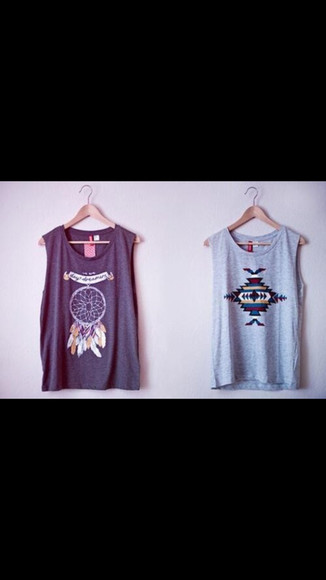 dream catcher aztec dreamcatcher t-shirt aztec muscle tank