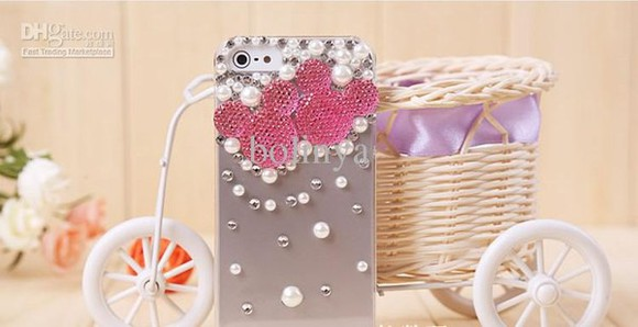 mickey mouse cute jewels minnie mouse pink and there all colors iphone cover