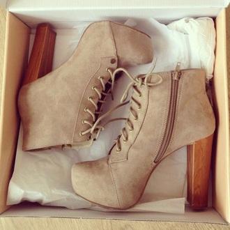 shoes heels zip up wood