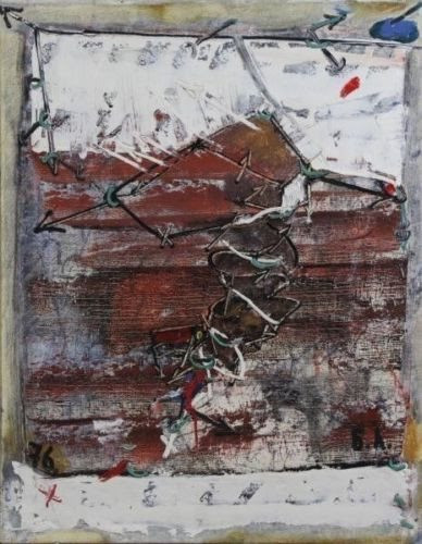 Bella Levikova Moscow Russian Rare Artwork, Oil on Canvas, 1967 Art Decor NYC https://www.artdecornyc.com