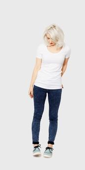 t-shirt,white t-shirt,short sleeve,cotton