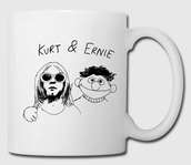 home accessory,usa,america,england,france,germany,italy,canada,australia,band,mug,kurt cobain,bert and ernie,ernie,drink,coffee