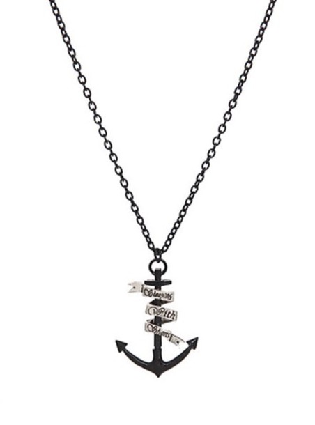 jewels sleeping with sirens necklace anchor music pierce the veil jewelry band band band merch birds