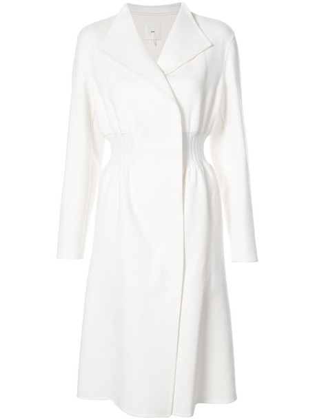 Kuho coat women white wool