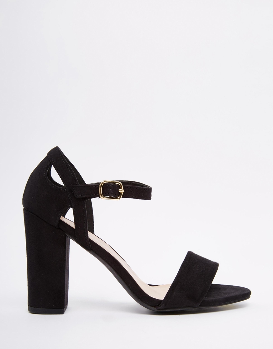 58812fd54e4a New Look 2 Part Block Heel Sandal at asos.com