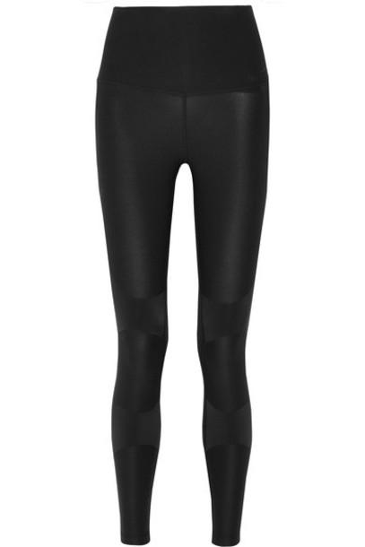 Nike leggings mesh fit black pants