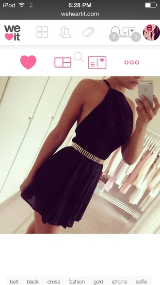 dress halter dress belt