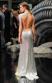dress,prom dress,long prom dress,rosie huntington-whiteley