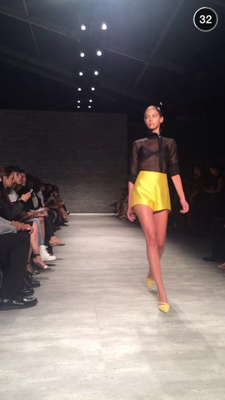 new york city yellow new york fashion week