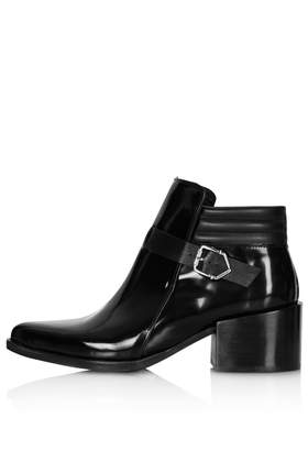 AUDIO Black Heel Boots - Boots  - Shoes  - Topshop USA