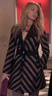coat,gossip girl