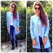 jacket,light blue,pastel color,zara