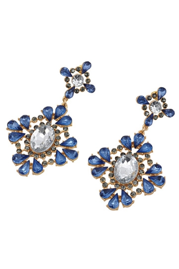Light Blue Diamonds Earrings [FVBJ00167]- US$5.99 - PersunMall.com