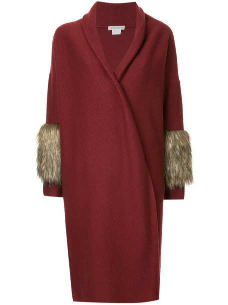 Cityshop coat women wool red