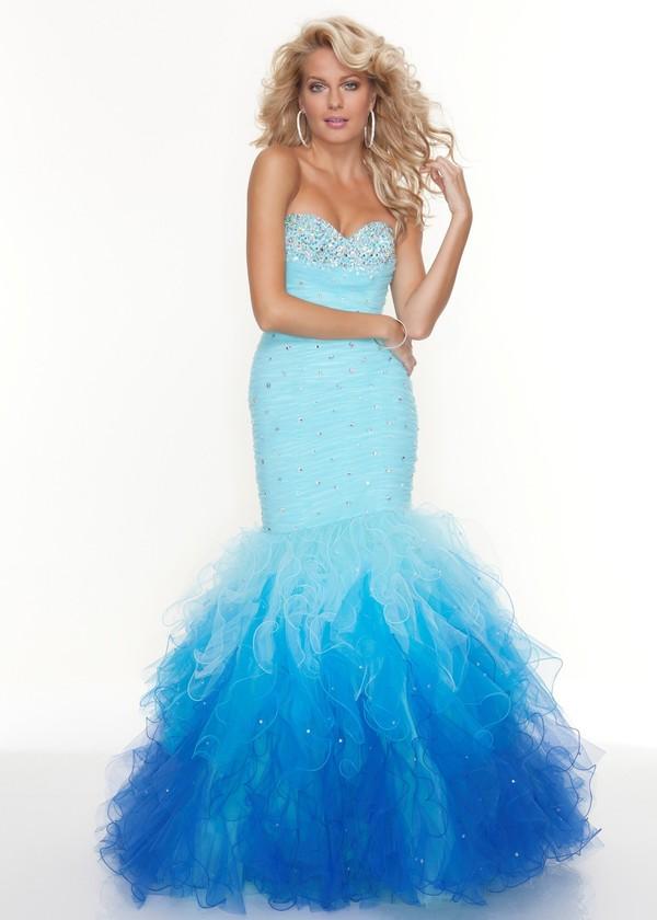E0324 Fashion designed mermaid prom dress 2013-in Evening Dresses ...