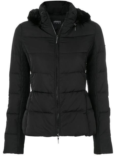 ARMANI JEANS jacket women black