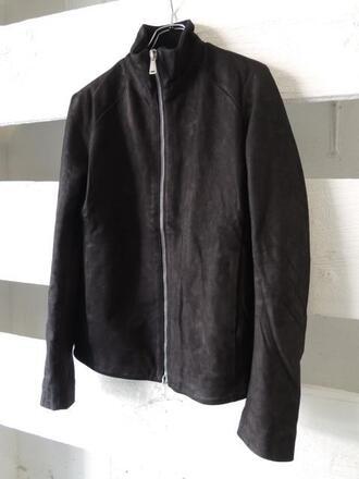 jacket black zip-up suede suede jacket black suede menswear mens jacket fashion coat velvet velvet jacket