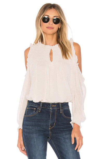 Sanctuary blouse cream top