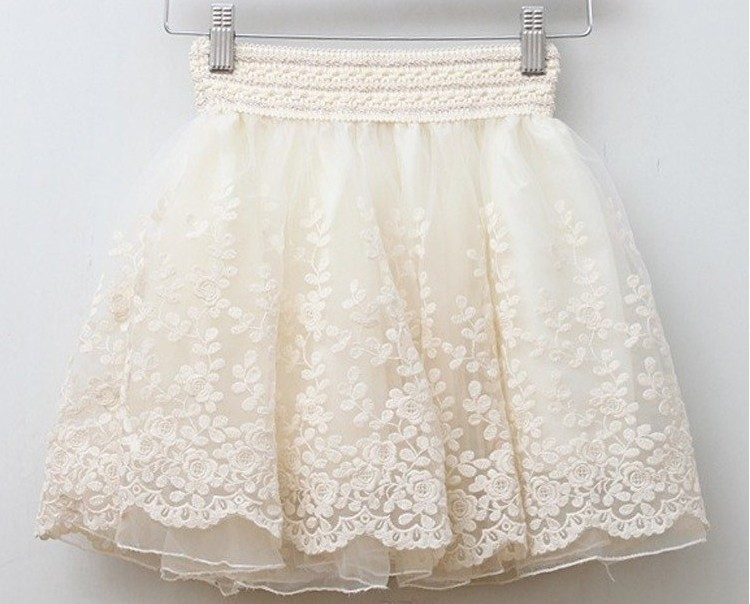 2014 Women Korean version of the retro lace skirt princess gauze tutu skirt bust skirt bottoming-in Skirts from Apparel & Accessories on Aliexpress.com | Alibaba Group
