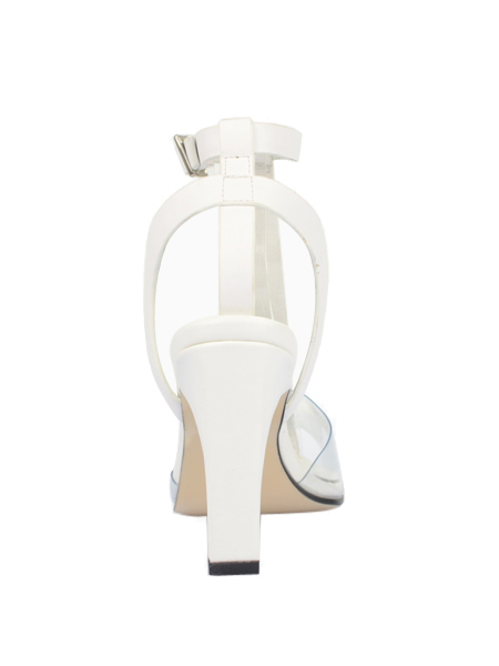 New Style Lucid Toe Sandals In White - Choies.com