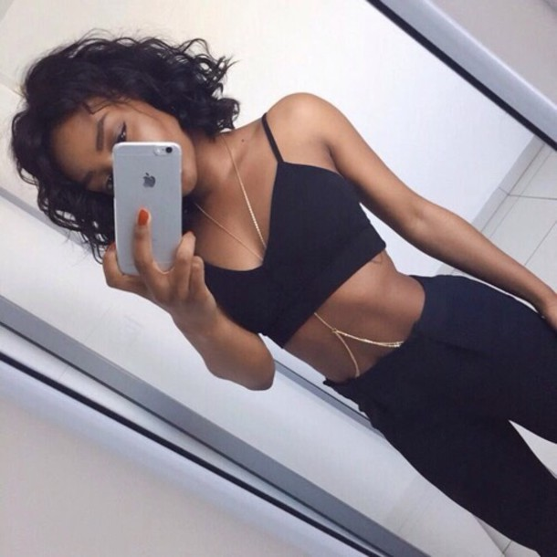 pants black top outfit tumblr tumblr outfit hipster clothes selfie jewelry  jewels leggings blouse  Pants. Iphone Selfie Tumblr