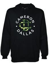 sweater,jacket,cameron dallas,swimwear,sweatshirt,black,hoodi,magcon,black camo cameron dallas shirt,black jacket,jumpsuit,hoodie,black sweater,camerondallas