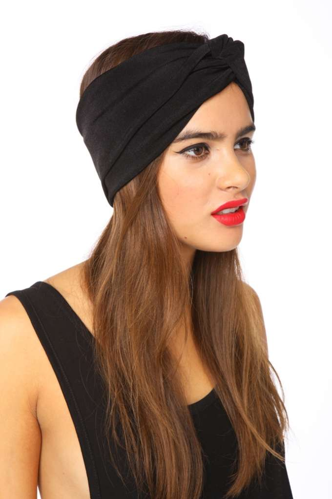 Pitch Black Turband | Shop Accessories at Nasty Gal