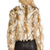 BSABLE Olivia Faux Fur Jacket in Brandy Gold | REVOLVE