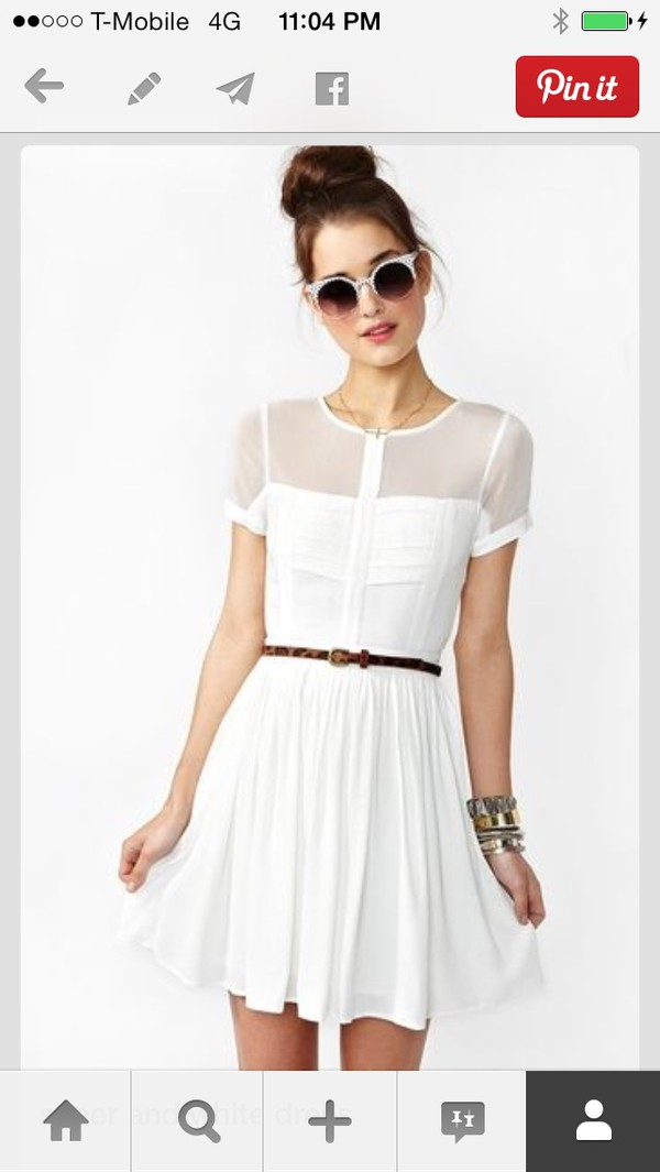 dress t-shirt dress white dress white