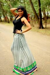 skirt,white,green,blue skirt,aztec,floral skirt,summer outfits,beach dress,long skirt,aline skirt,aaberi