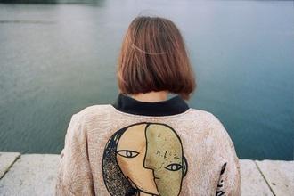 coat bomber jacket tumblr aesthetic grunge pale soft grunge pale grunge jacket