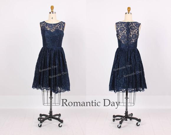 dress short dress formal dress prom dress lace dress party dress bridesmaid dresses custom made dresses lace bridesmaid dress