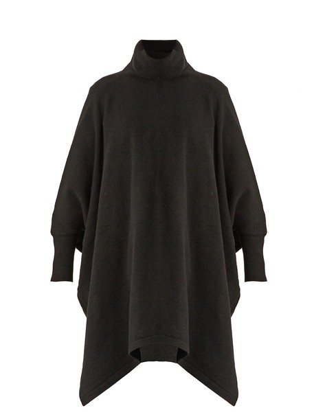 Sportmax poncho black top