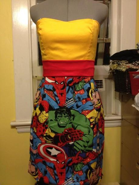 dress marvel dress