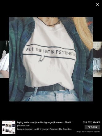 t-shirt tumblr outfit