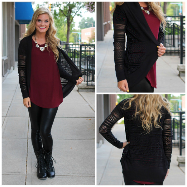 cardigan knit black cardi fall outfits fall outfits top leggings shoes
