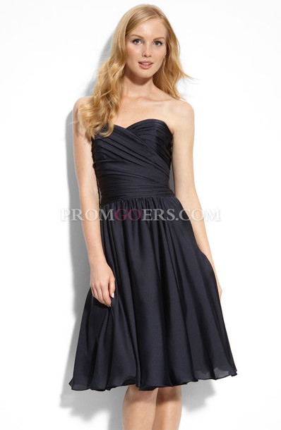 dress bridesmaid black prom dress little black dress homecoming dress short prom dress