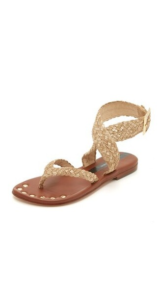 sandals gold shoes