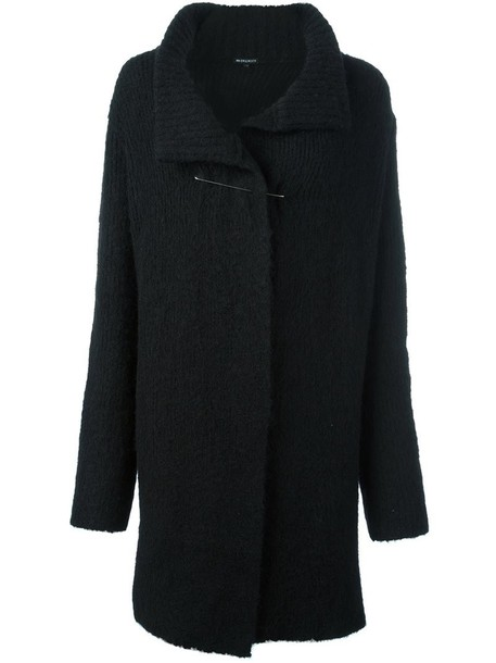 coat women spandex black wool