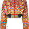Moschino mirror embroidered bomber jacket - farfetch