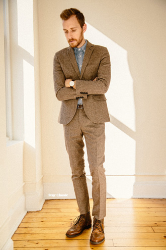 stay classic blogger mens suit classy