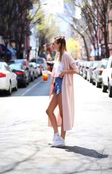 cardigan pink kimono shorts blouse pink dress summer dress spring dress light pink