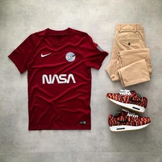 t-shirt nasa nike soccer hypebeast