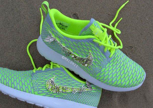 Nike Free Custom Shoes With Bling Flat Shoes With Bling  8452669f418f