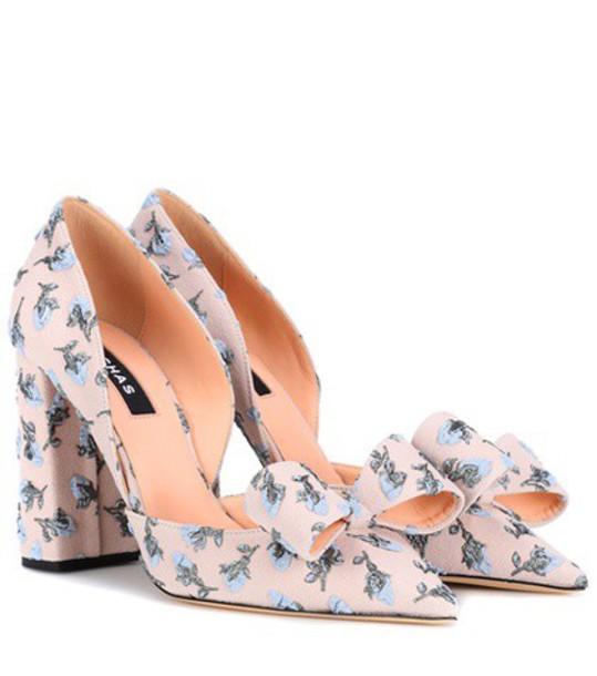 Rochas pumps pink shoes