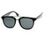 Vintage 1950's Inspired Dapper Cross Bar Wayfarer Sunglasses 8764                           | zeroUV